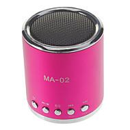 MA-02ミニTFスロット&Uディスクスロット付きMP3スピーカー&FMラジオ