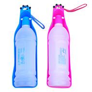 350ml tazón de exterior portátil de plástico de agua potable para los animales domésticos (color clasificado)