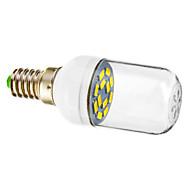 E14 1.5W 12x5730SMD 90-120LM 5800-6200K 차가운 백색 빛 LED 반점 전구 (220-240V)