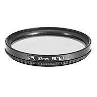 CPL Filtre pour appareil photo (52mm)