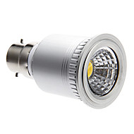 B22 5 W COB 400 LM Warm White Dimmable Spot Lights AC 220-240 V
