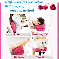 Soporte Rose Red alta calidad Hermoso cojín del respaldo del amortiguador de asiento mágico Lumbar Back