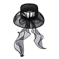sequin를 가진 우아한 organza 결혼 / 파티 / 아웃 도어 모자 (색상 선택)