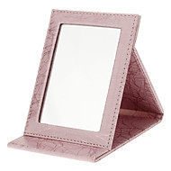 메이크업 보관함 거울 16.5*12.2*1.7 오렌지