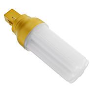 Lampadine a pannocchia 72 SMD 3014 G24 4 W Decorativo 320-350 LM 2700-3200 K Bianco caldo AC 220-240 V