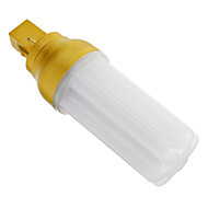 G24 4 W 72 SMD 3014 320-350 LM Warm White Decorative Corn Bulbs AC 220-240 V