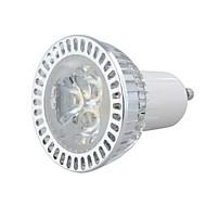 GU10 3W 1W × 3LEDs의 270-300LM 3000-3500K는 백색 LED 반점 전구 (AC 100-220V)