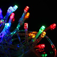 30 LED batterij aangedreven Multi-Color String Fairy Lights voor Christmas Party (3xAA)