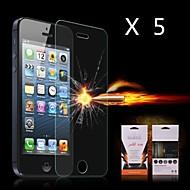 Ultime choc de protection écran d'absorption pour iPhone 4/4S (5PCS)
