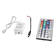 44-Button Remote Controller for LED RGB Strip Lights (12V)