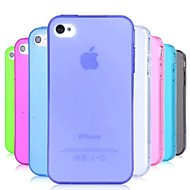 VORMOR® TPU Dust Proof Soft Case for iPhone 4/4S (Assorted Colors)