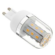 Ampoule Maïs Blanc Chaud T G9 4 W 27 SMD 2835 324 LM AC 85-265 V