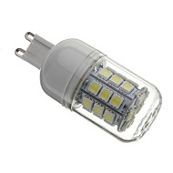 G9 3.5 W 30 SMD 5050 330 LM Natural White Corn Bulbs AC 110-130/AC 220-240 V