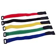 25cm batterie LiPo Strap Cravates pour l'hélicoptère RC (5 pièces)