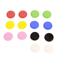 16pcs는 다채로운 미끄럼 방지 실리콘 캡 PS4 컨트롤러