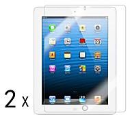 [2 pacotes] de alta qualidade escudo invisível Smudge Protetor de Tela Prova para iPad 2/3/4