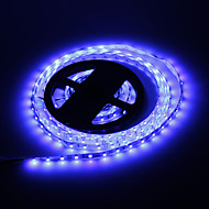 5M 24W 300x3528SMD Blue Light LED Strip Lamp (DC 12V)