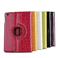 Crocodile Style 360 Degree Rotating Leather Case for iPad Air (Assorted Colors)