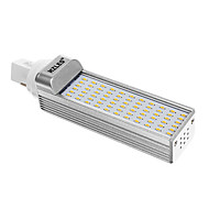 G24 7 W 66 SMD 3014 660 LM 3000 K Warm wit Maïslampen AC 85-265 V