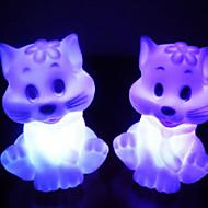 Katt Rotocast Color föränderliga Night Light