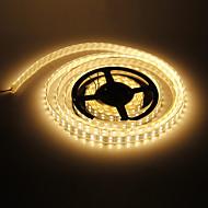 Waterproof 5M 144W 600x5050SMD Warm White Light LED Strip Lamp (DC 12V)
