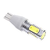 T15 7.5W SMD White Light LED for Car Light Bulb Lamp