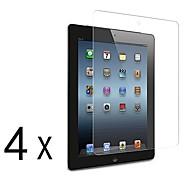 [4-Pack] premium de alta definición Protectores de pantalla claros para iPad 2/3/4