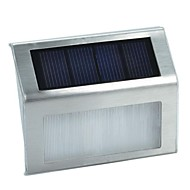 Light Control 2-LED Solar Wall Lamps Wall Mounted Fence Garden Lightst