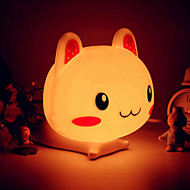 Rabbit Shape ABS LED Night Light (assortert farge)
