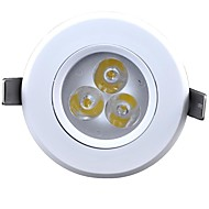 cnlight 3.5 W 3 Integrate LED 200 LM Cool White Recessed Retrofit Decorative Recessed Lights AC 220-240 V