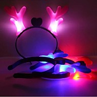 Coway световой олень долго цзяо chirstams Хэллоуин праздничные атрибуты hezdbands (случайный цвет)