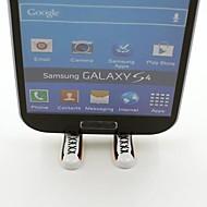 Germany Football Team National Flag Shoes Shaped Stand Bracket Dustproof Plug for Samsung S3 S4 S5