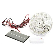 220lm 22-LED Fjernbetjening Solar Flood Lamp Lighting-system