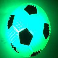 Coway flash boll luminiscens fotboll ledde nattlampa (slumpvis färg)