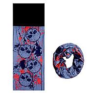 pescoço polainas ( Vermelho/Azul Escuro ) - para Acampar e Caminhar/Alpinismo/Ciclismo -Resistente Raios Ultravioleta/Respirável/A Prova