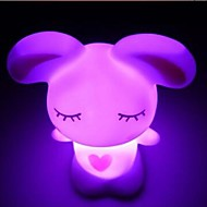 Coway Lovely Rakkaus Rabbit värikäs LED Night Light