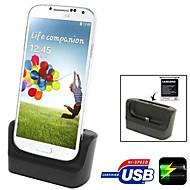 3 i en datasynkronisering batterilader desktop lader micro usb micro USB-kabel for samsung galaxy s4 siv i9500 i9505