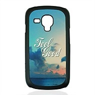 As Nuvens e Padrão Mar Hard Case para Samsung Galaxy S3 mini-I8190
