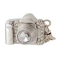 8 gb Kamera-Design USB-Stick mit Strass-Dekoration