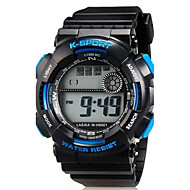 Kids' Sport Watch Wrist watch Casual Watch LED Quartz Silicone Band Casual Black Strap Watch