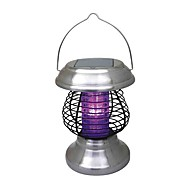 Outdoor Solar 4-LED Garden Yard Zapper Pest Insect Mosquito Killer Lamp Light