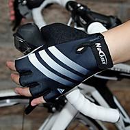 guantes de ciclismo nuckily fingerless montaña / carretera / bicicleta plegable n3542 medio dedo