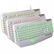 Dare-u The Judge USB Wired 3 Backlit 19Key Gaming Keyboard-White