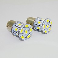 1157 2W 13x5730SMD 150-180LM White Light LED Bulb for Car (DC 12V,2pcs)