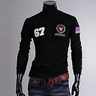 Men's Stand Collar Fashion Leisure Sport Long Sleeve Coat