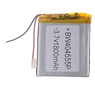 """Universal Udskiftning 3.7V 1800mAh Li-polymer Batteri til 7 ~ 10 """"Macbook Samsung Acer Sony Apple Tablet PC (4 * 45 * 55)"""