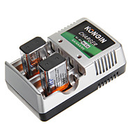 Kongin Battery Charger for AA/AAA/9V/Ni-MH/Ni-Cd with AU Plug(Included 2xBP9V300)