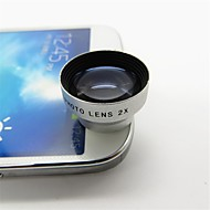 Universal Magnet 2X Telephoto Lens with Clip for Smartphone and Tabs