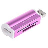 sax-012 mini style high speed usb 2.0 sd / mmc / micro sd-kaartlezer