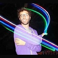 color de la tarjeta blister diseño foco noche plástico ligero (1pcs)